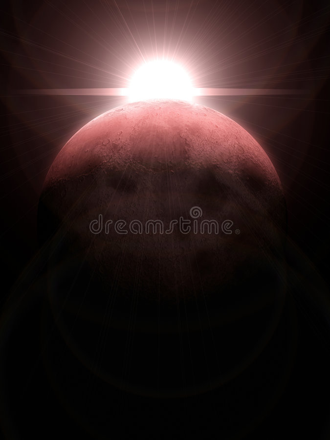 3d moon royalty free stock images