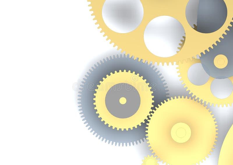 3d motor vector illustratie