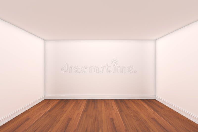 3d opróżniają renderingu domowego wewnętrznego pokój ilustracji