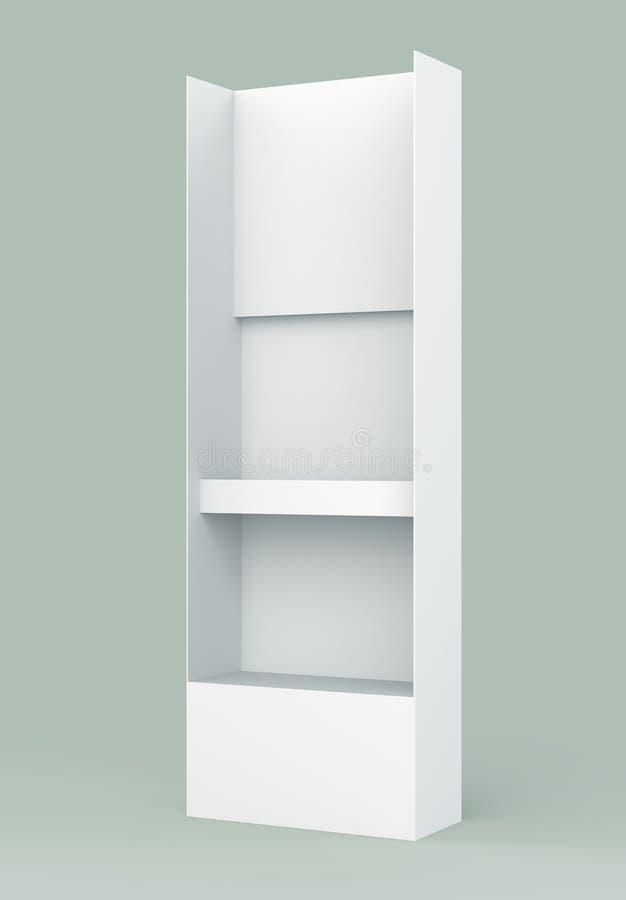 3D paneel van de de draadvleugel van de Gondel van de plankenvertoning royalty-vrije stock afbeelding