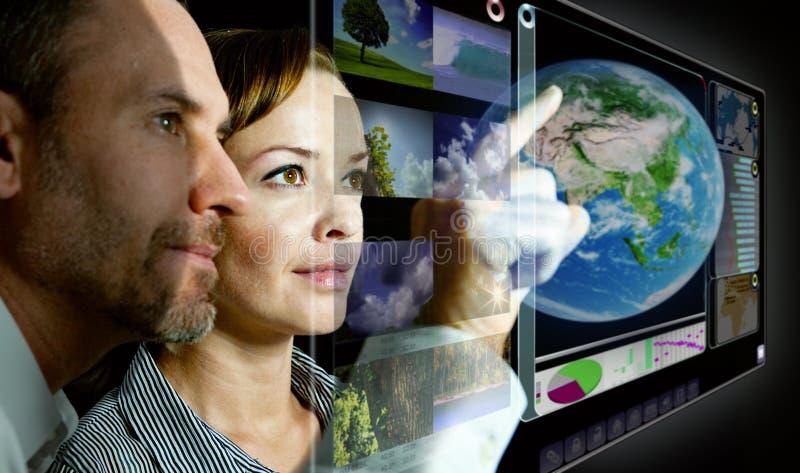 3d parawanowy wirtualny obrazy royalty free