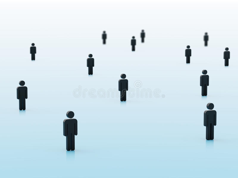 3d people vector illustration