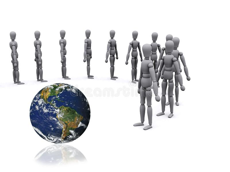 3d people royalty free stock photo