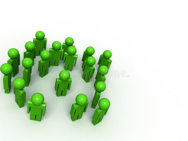 3d people vector illustration