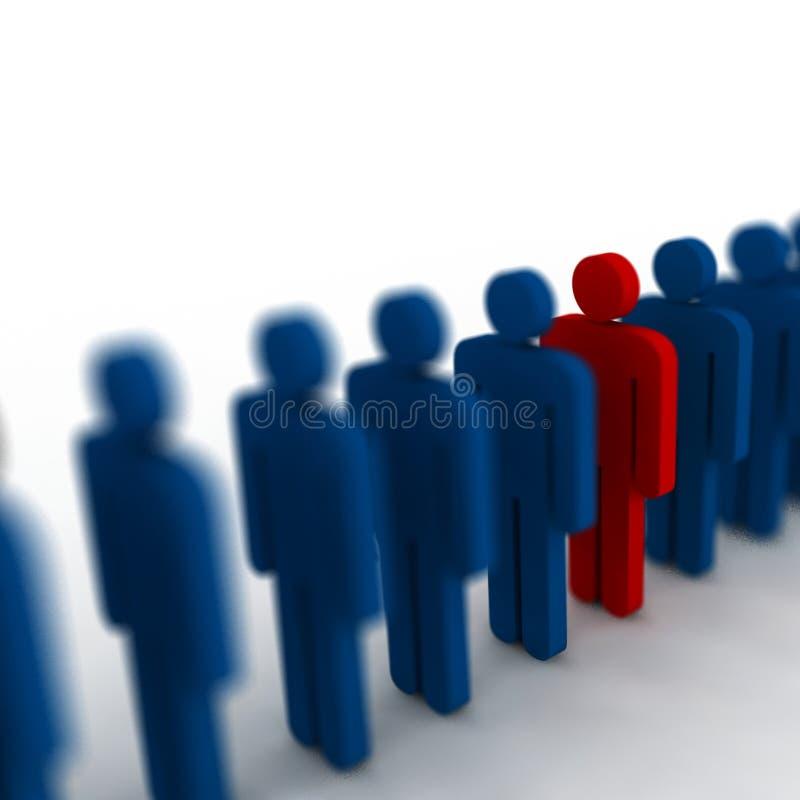 Download 3d people stock illustration. Image of organisation, profession - 4842534