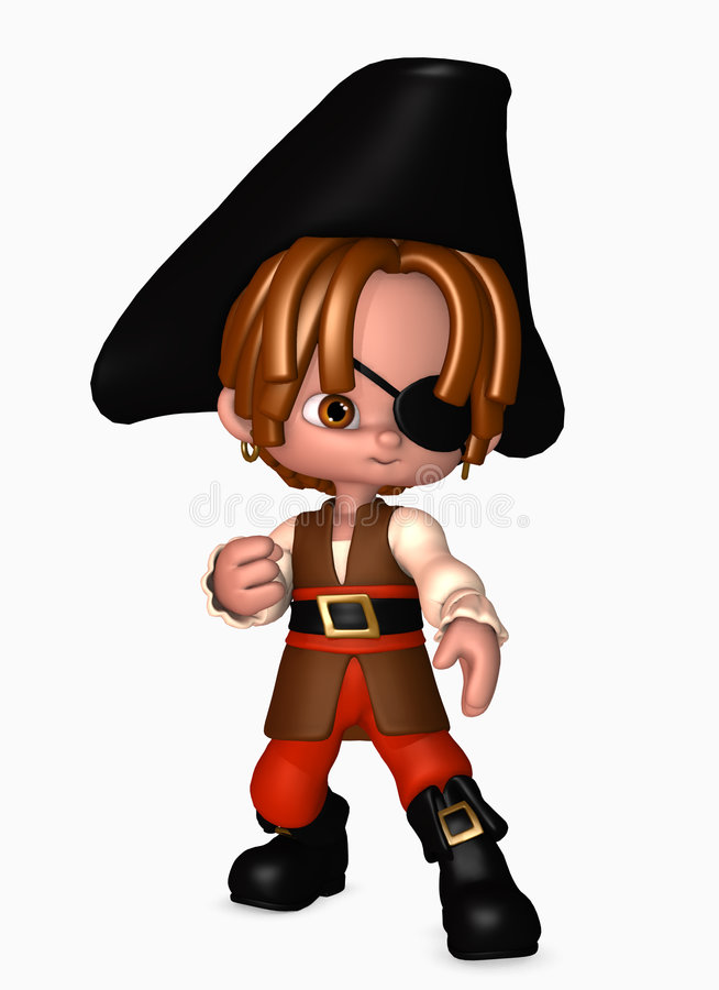 Download 3d Pirate Boy Stock Photography - Image: 5567902