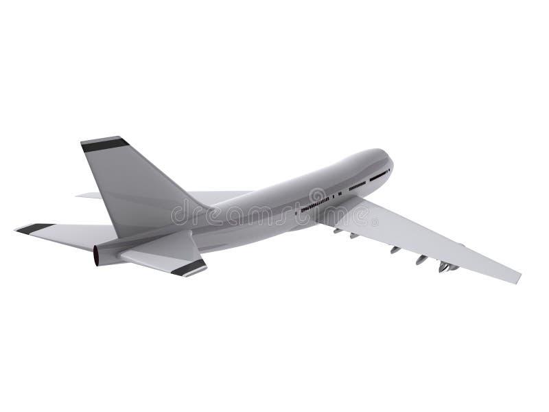3d plane vector illustration