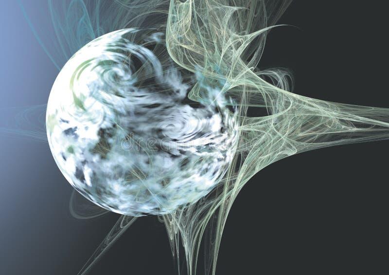 Download 3D Planet Abstract stock illustration. Illustration of digital - 1448993