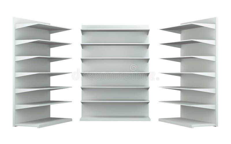 3D planken en plank royalty-vrije stock foto