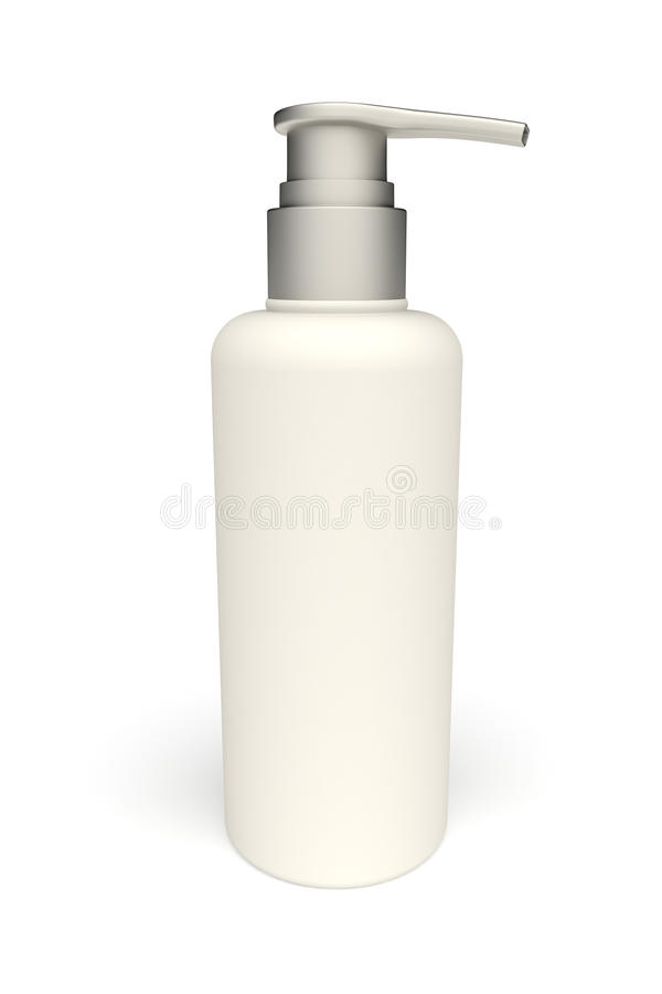 3d plastic botle vector illustration
