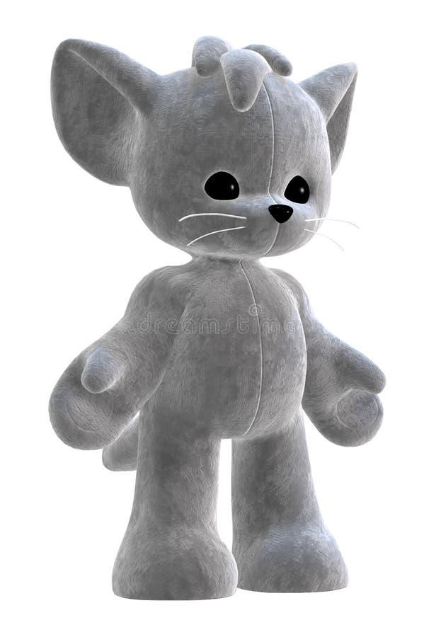 Download 3D plush toy stock illustration. Image of kitten, snuggle - 8520553