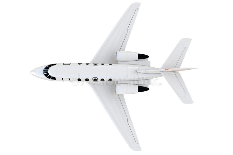 3d Private Plane Royalty Free Stock Photography