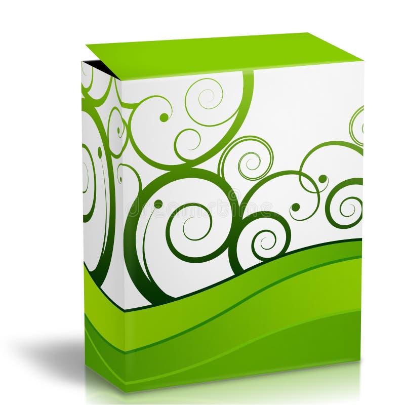 3d pudełko royalty ilustracja