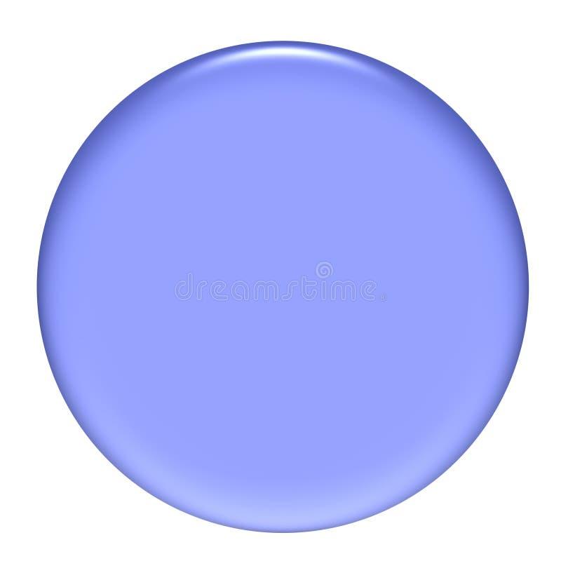 3D Purpere CirkelKnoop stock illustratie