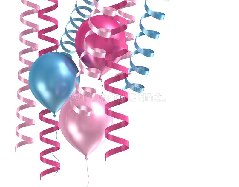 Download 3d Purple Ballons Royalty Free Stock Image - Image: 19787776