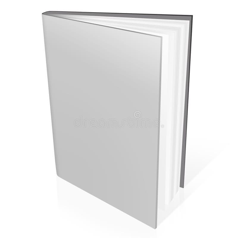 3d pustego miejsca książki pokrywy ilustracja wektor