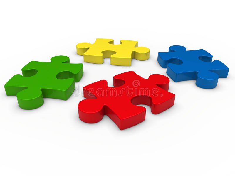 Download 3d Puzzle Stock Image - Image: 21122581