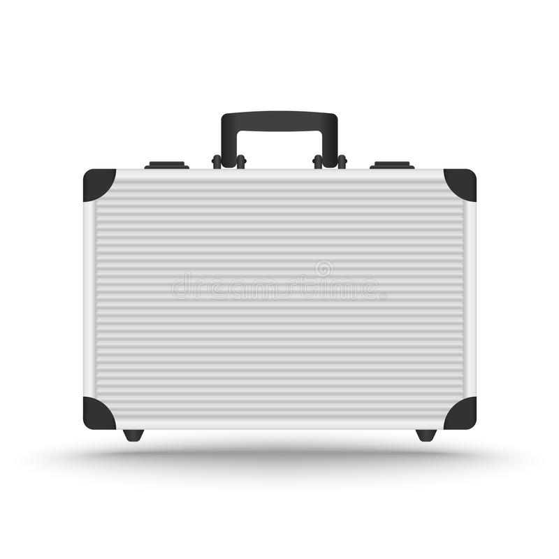Free 3D Realistic Aluminum Briefcase Vector Royalty Free Stock Photo - 41367505