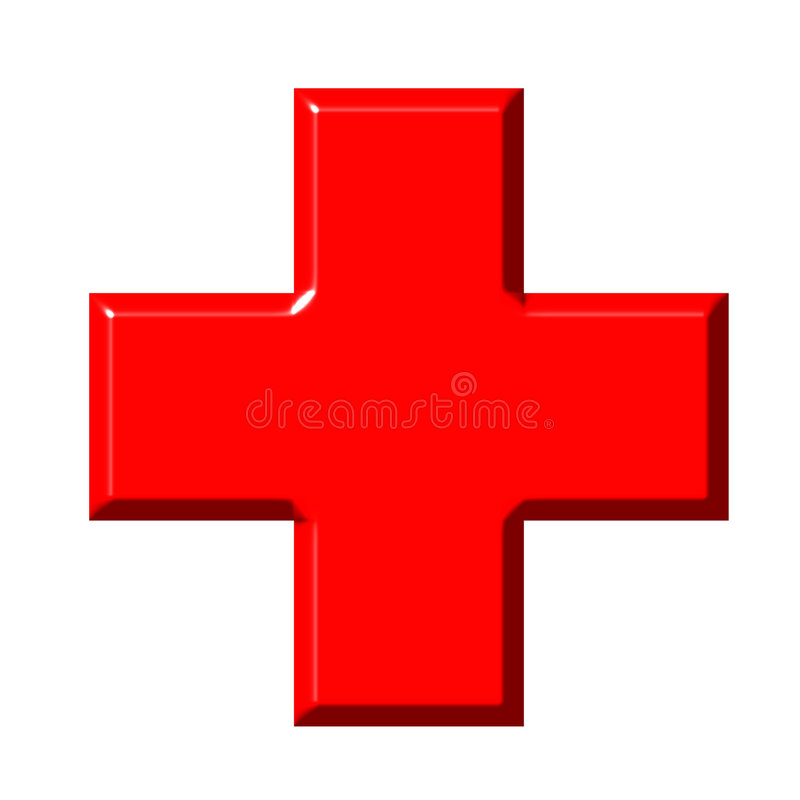 Download 3D Red Cross editorial photo. Illustration of sign, symbol - 5271581
