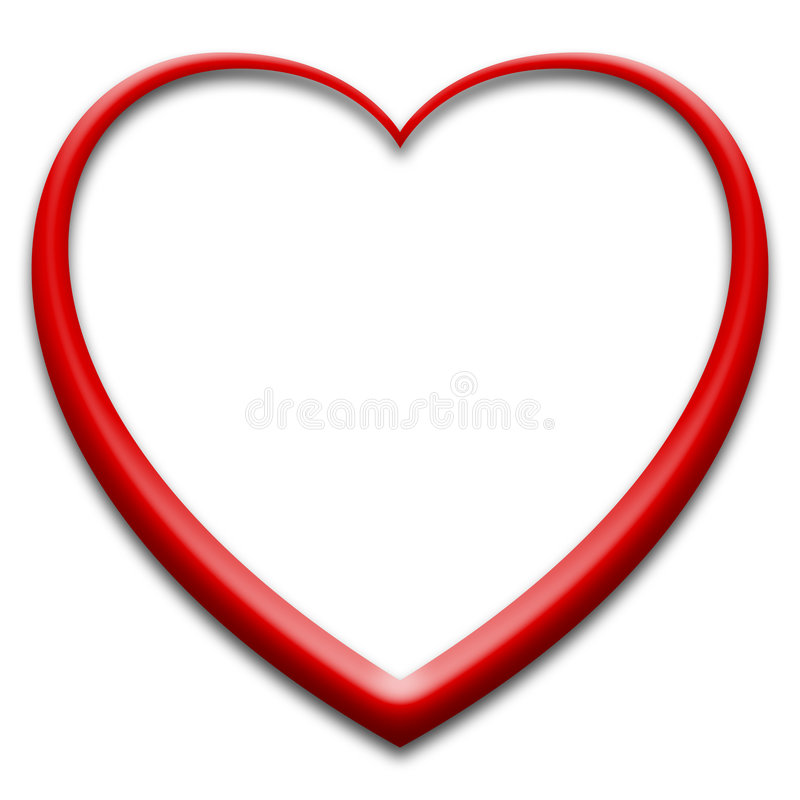 Free 3d Red Heart Royalty Free Stock Images - 7665239