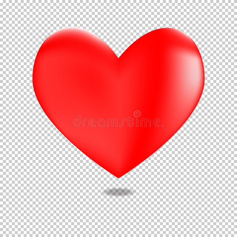Free 3D Red Heart For Valentines Day Stock Image - 88339631
