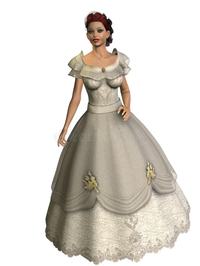 Download 3D Render Bride Bridal Fashion Royalty Free Stock Photography - Image: 11096357