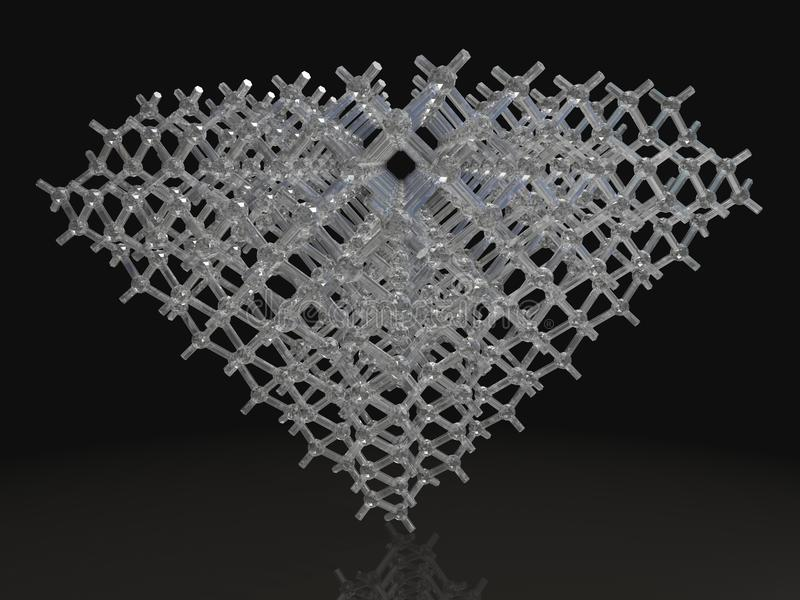 3d Render Of Diamond Royalty Free Stock Images