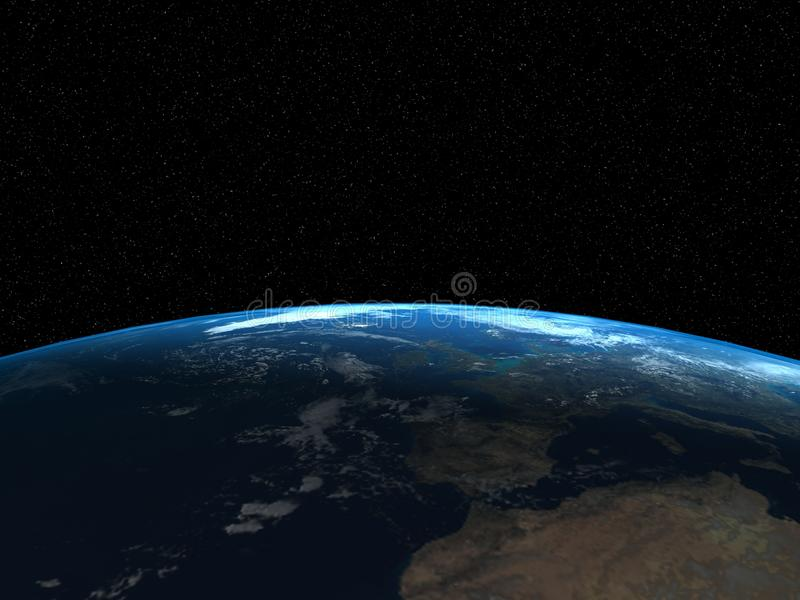 Download 3d render of the Earth stock illustration. Image of shine - 11916629