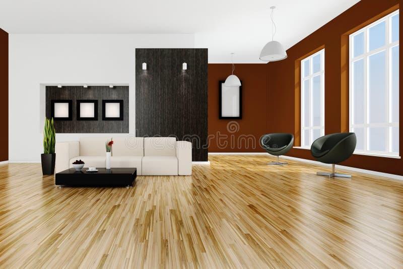 Download 3d Render Of A Modern Interior Room Stock Illustration - Image: 18649491