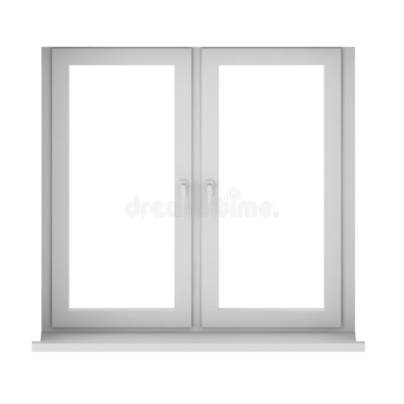 3d render of window