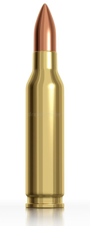 3d Rendered Bullet Stock Image