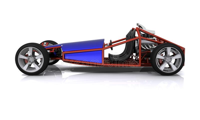 Download 3D Rendered Hobby Sports Car Stock Image - Image: 24133901