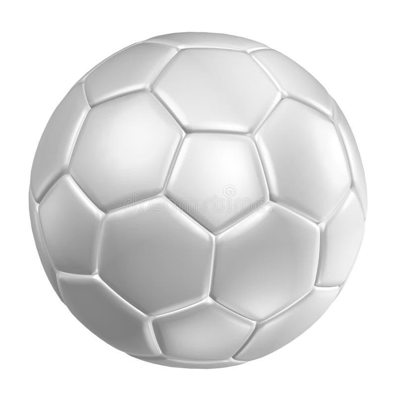 3d rendering futbolowa piłka nożna ilustracja wektor