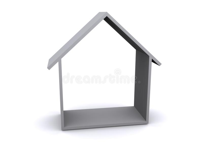Download 3D Rendering Of A House Royalty Free Stock Image - Image: 17122766