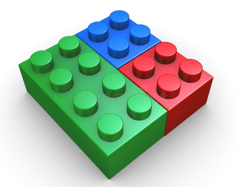 Download 3d rgb toy stock illustration. Illustration of build - 24092702