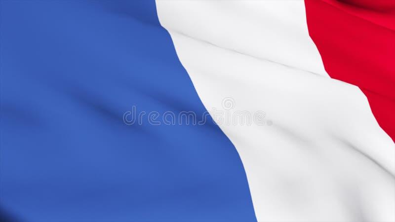 3d rinden del indicador francés libre illustration