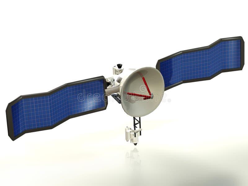 3d satelliet vector illustratie