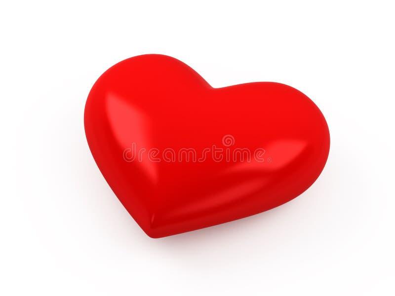 3d serce ilustracji
