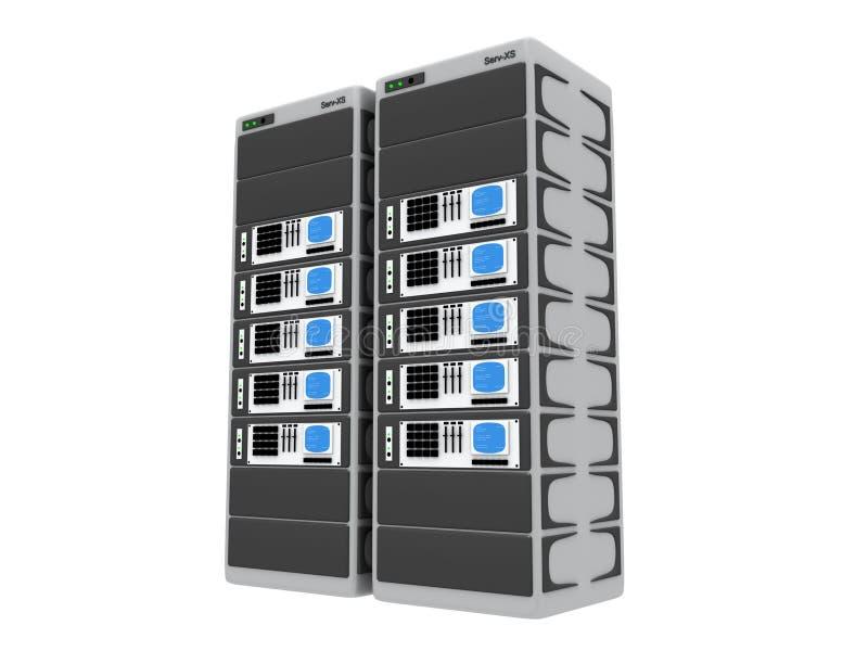 3d Servers Stock Foto's