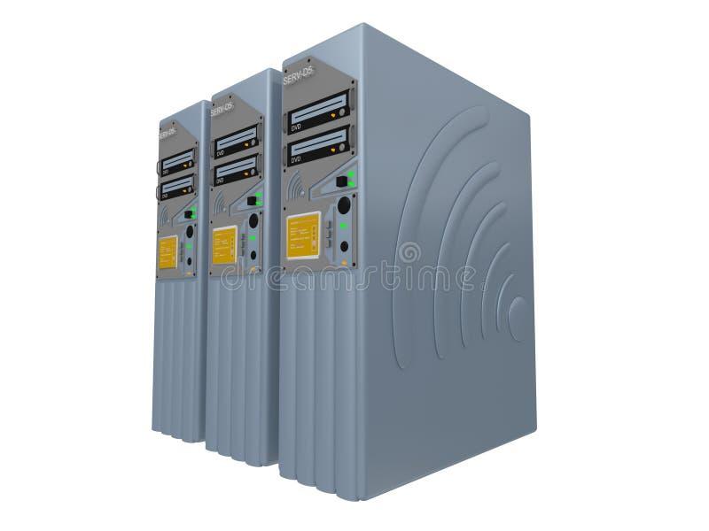 3d servers #4 stock photography
