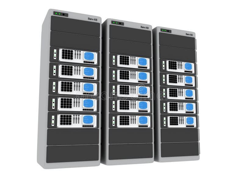 3d Servers #5 royalty-vrije illustratie