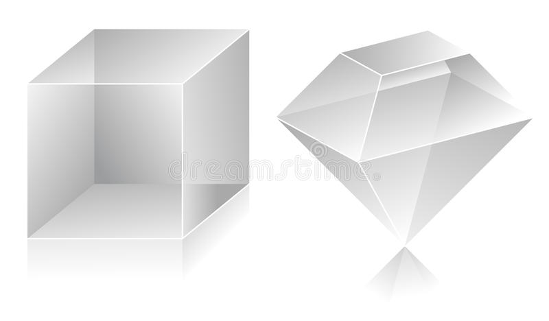 3D Shape Royalty Free Stock Photography