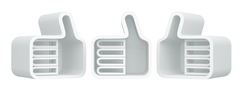 Download 3D shelves design stock illustration. Image of consent - 26519076