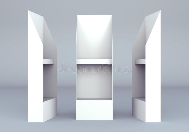 Download 3D Shelves Display Gondola Wire Wing Panel Stock Illustration - Image: 24002216