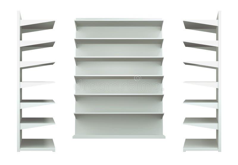 3D shelves and shelf