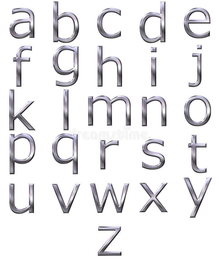 Download 3D Silver Alphabet Stock Photos - Image: 9856033