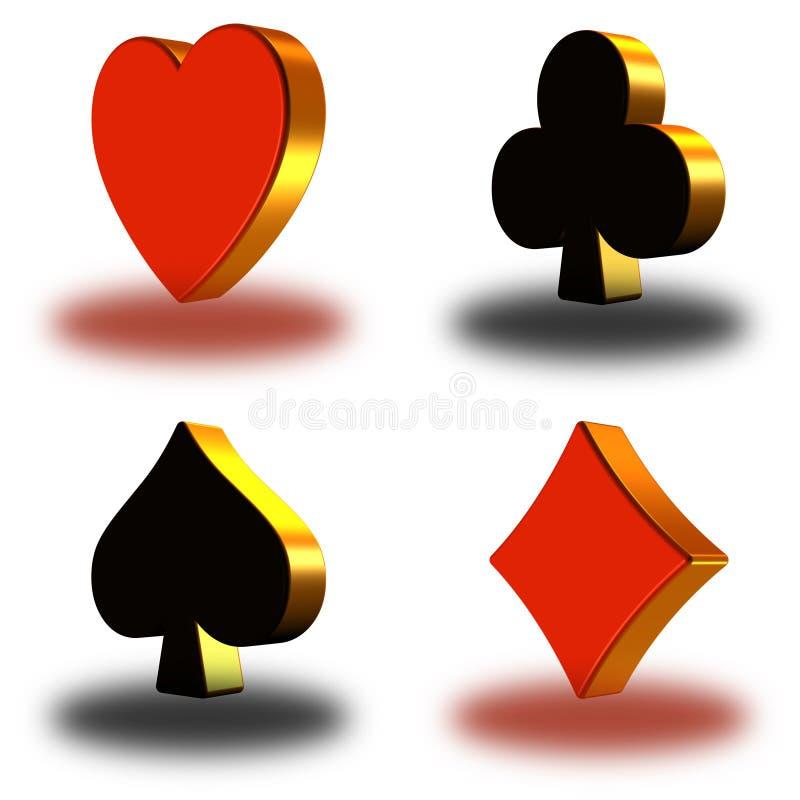 3d simbol van de pook (01) vector illustratie