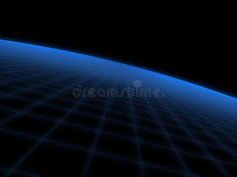 3d space vector illustration
