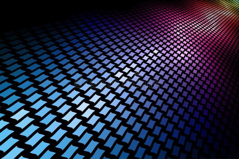 Download 3D spectrum mosaic stock vector. Image of festive, entertainment - 14617087