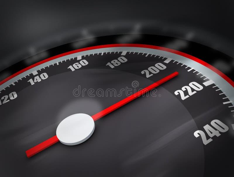 Download 3D Speedometer stock illustration. Image of equipment - 9240450